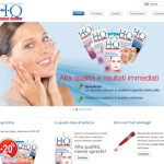 HQ cosmetics sito web